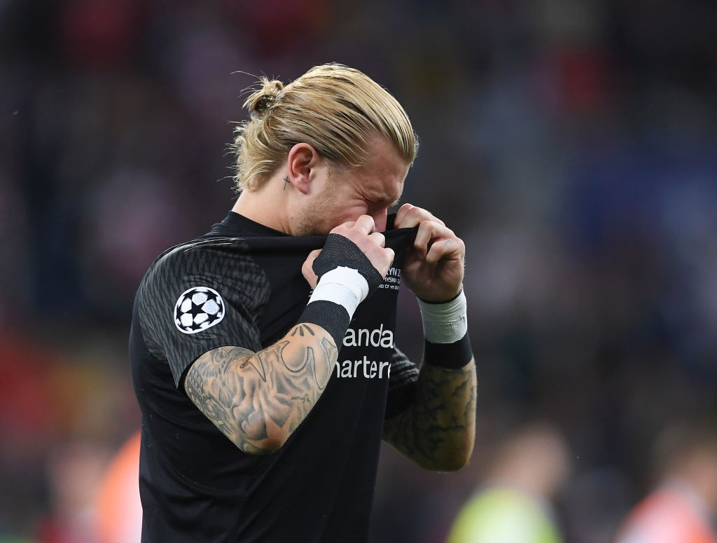 A night to forget! Loris Karius will certainly want to forget this dreadful night against Real Madrid in the Champions League Final. (Photo courtesy: AFP/Getty)