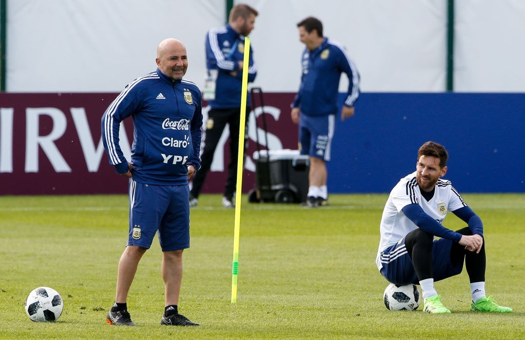 Sampaoli and Messi will be hoping Argentina have put their sketchy qualifying form behind them. (Photo courtesy - Gabriel Rossi/Getty Images)