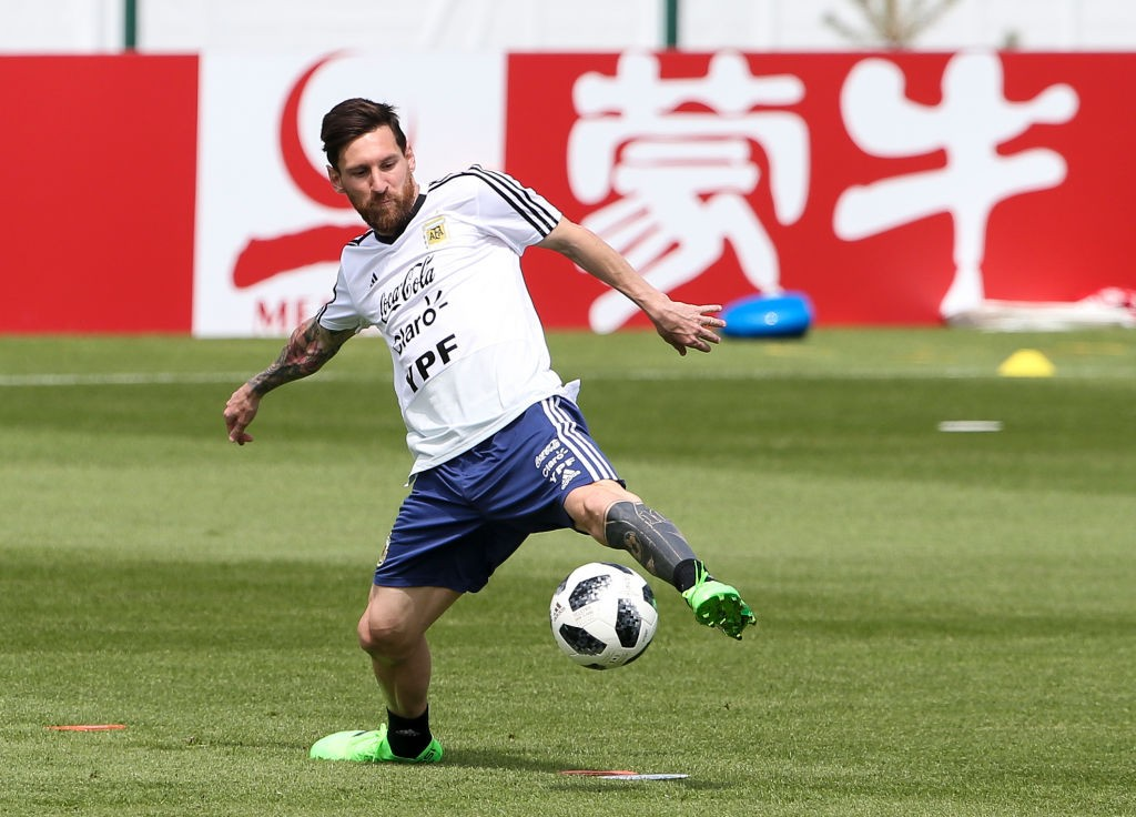 All eyes will be on him, but will Lionel Messi deliver for Argentina against Nigeria? (Photo courtesy: AFP/Getty)