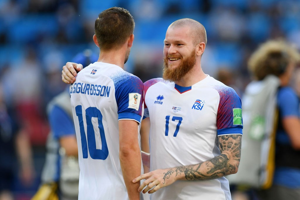 Sigurdsson and Gunnarsson will both be unavailable for Iceland (Photo courtesy - Matthias Hangst/Getty Images)