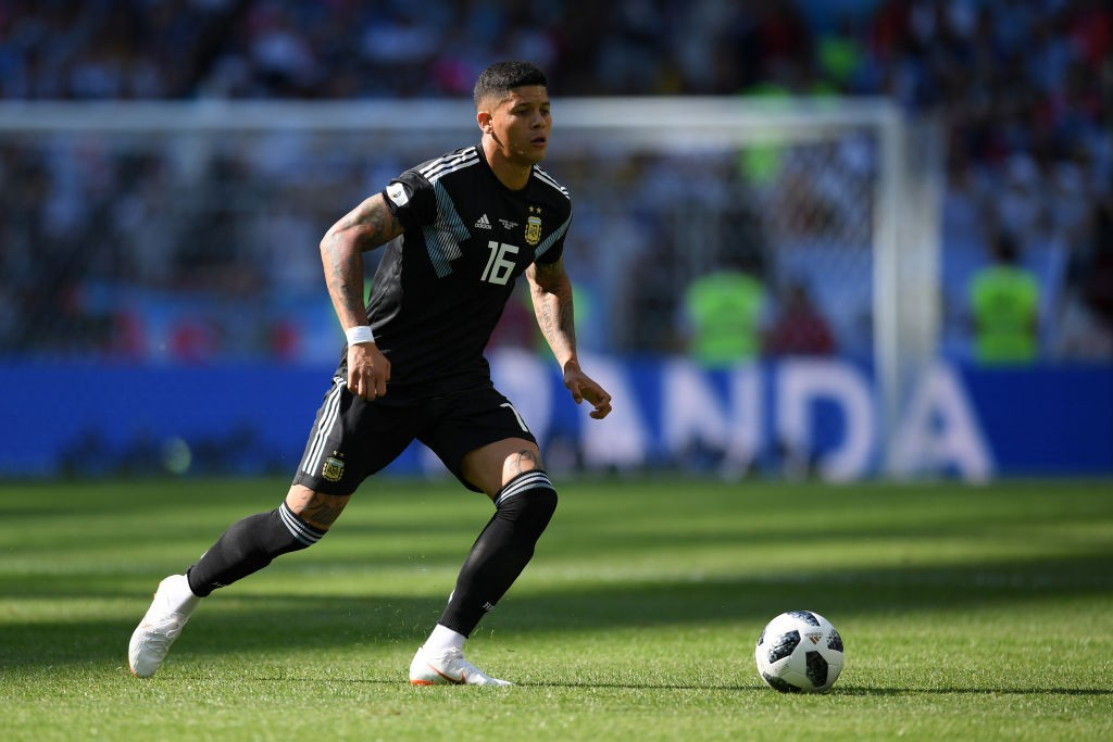 Marcus Rojo could be benched for the game against Croatia. (Photo courtesy: AFP/Getty)
