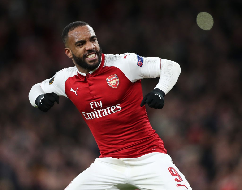 Alexandre Lacazette struggled between a strong start and end to his first season for Arsenal. (Photo courtesy: AFP/Getty)