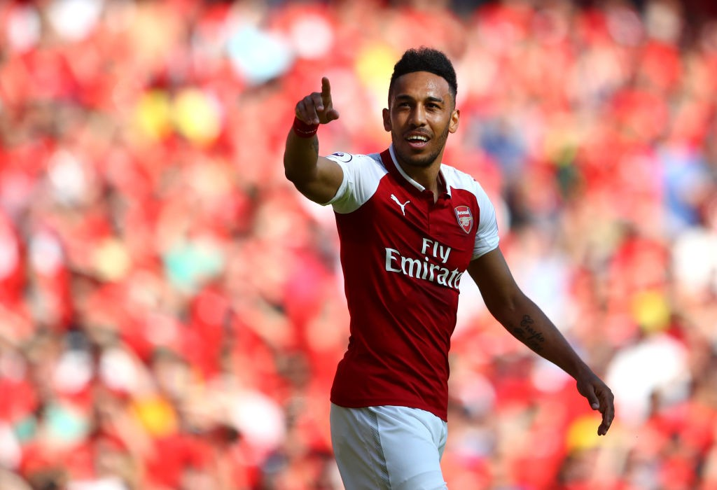 After signing for Arsenal in January, Aubameyang managed to score 10-goals for Arsenal in the Premier League. (Photo courtesy: AFP/Getty)