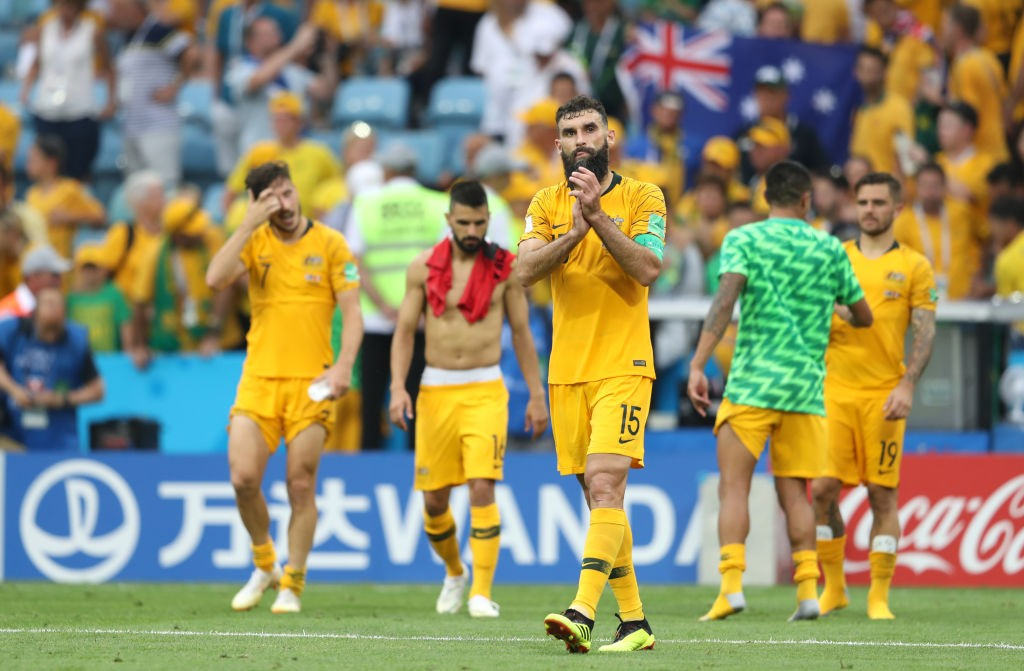 Australia were way too superior in attack against Peru but could not find a goal and eventually crashed out of the World Cup. (Photo courtesy: AFP/Getty)