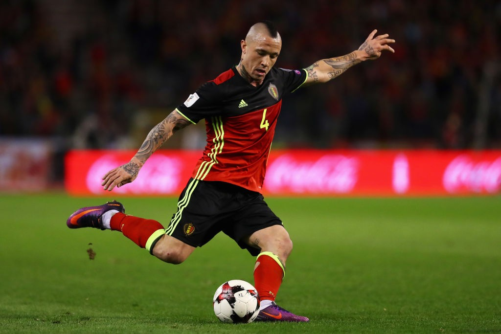 Radja Nainggolan was a high profile exclusion by roberto Martinez when he announced the final Belgium squad for the World Cup. (Photo courtesy: AFP/Getty)