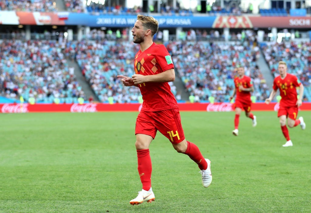 Mertens scored a screamer against Panama (Photo by Richard Heathcote/Getty Images)