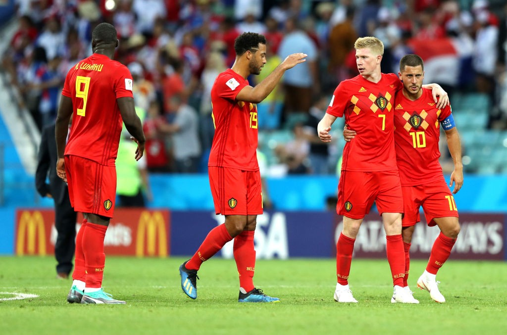 Lukaku and Kevin De Bruyne will hold the key for Belgium (Photo by Richard Heathcote/Getty Images)