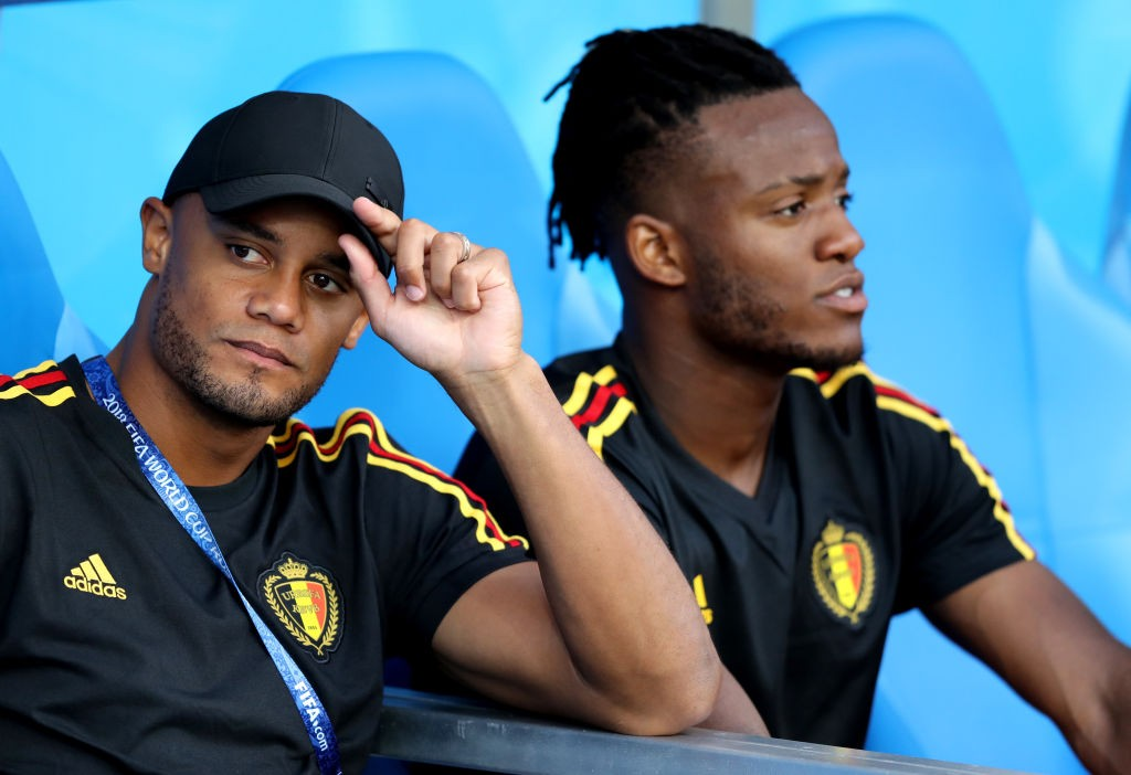 Vinvent Kompany is yet to recover and feature for Belgium at the World Cup. (Photo courtesy: AFP/Getty)