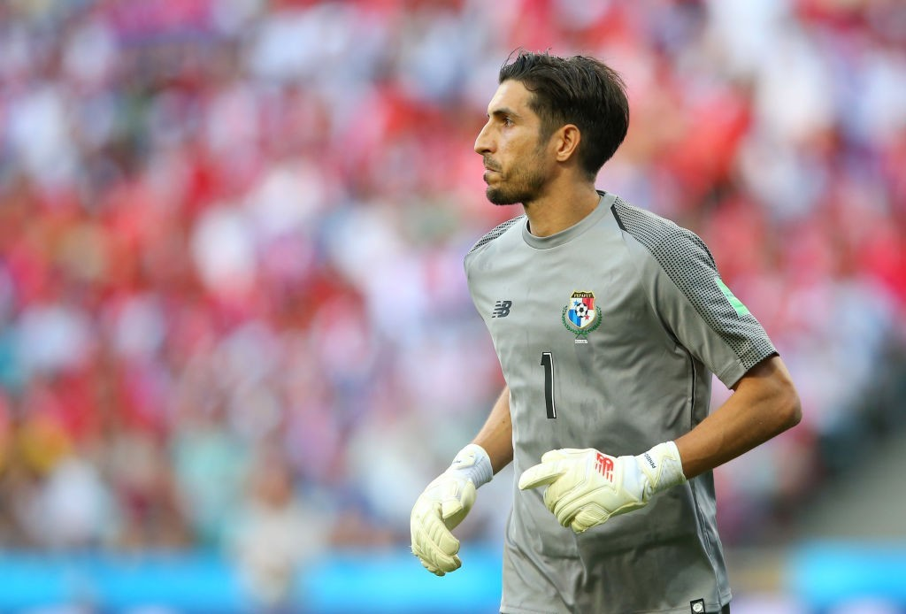 Penedo will need to play out of his skin to deny England all three points. (Photo courtesy - Alex Livesey/Getty Images)