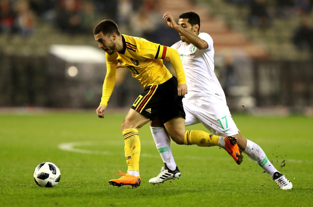 Eden Hazard will be Belgium's most important player in attack at the World Cup. (Photo courtesy: AFP/Getty)