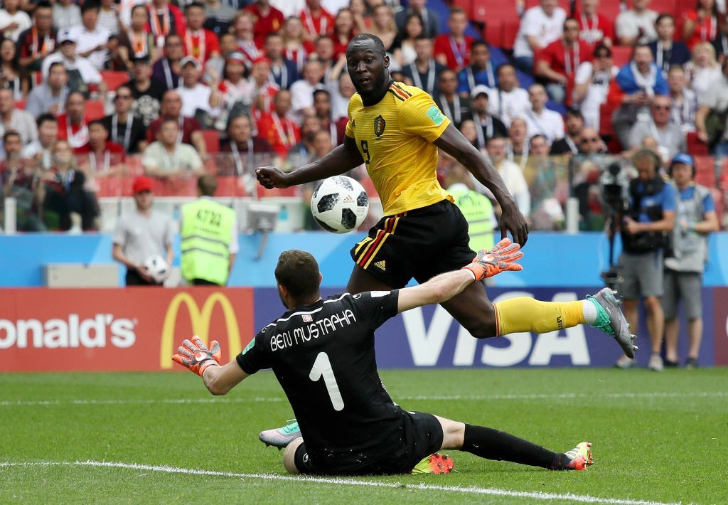 Lukaku was once again the star of the show (Photo by Kevin C. Cox/Getty Images)