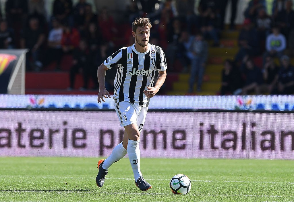 Juventus still their future with Daniele Rugani and might not let him leave in the summer. (Photo courtesy: AFP/Getty)