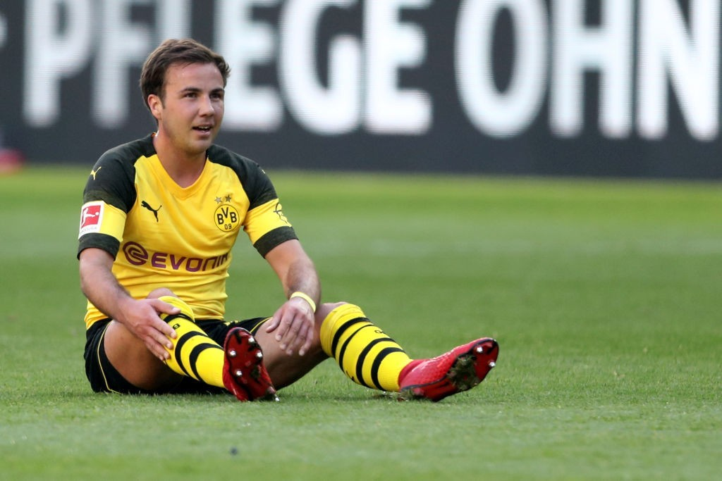 The frustrations have only continued mounting for Gotze. (Photo courtesy - Christof Koepsel/Bongarts/Getty Images)
