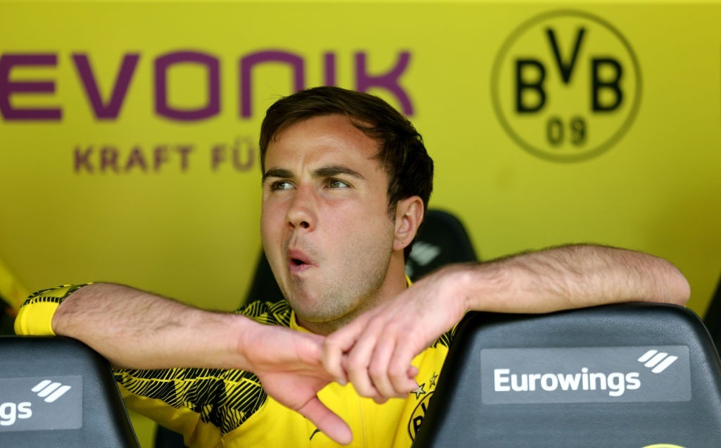 Gotze has failed to match the heights of his first Dortmund spell. (Photo courtesy - Christof Koepsel/Bongarts/Getty Images)