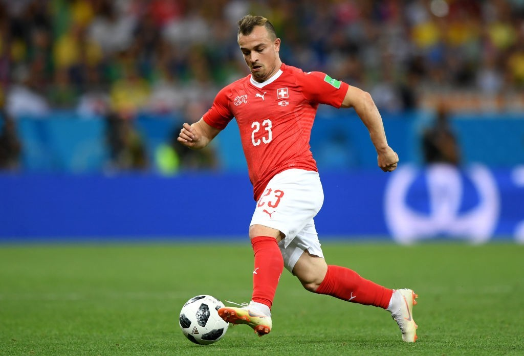 Will Shaqiri fire Switzerland to a victory? (Photo by Shaun Botterill/Getty Images)
