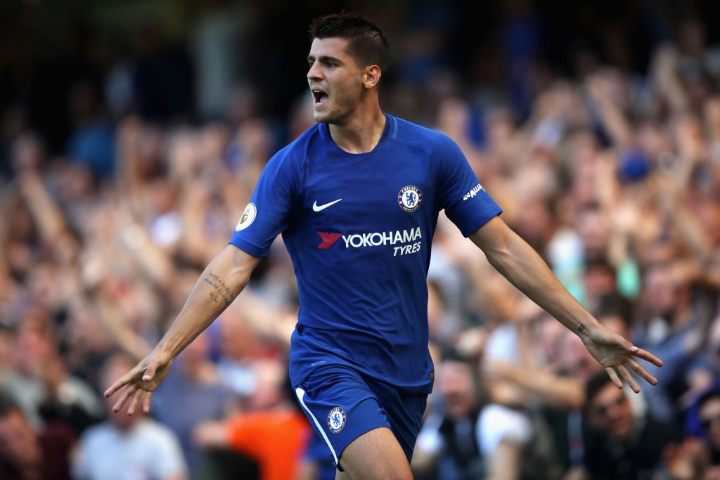 Morata's time at chelsea hasn't gone as planned with the striker only scoring 15-goals in his first full season. (Photo courtesy: AFP/Getty)