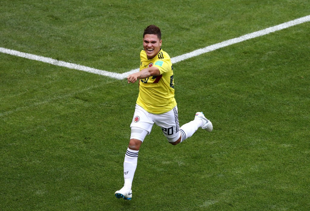 Juan Quintero is one of the World Cup's star with a goal and an assist to his name already in Russia. (Photo courtesy: AFP/Getty)