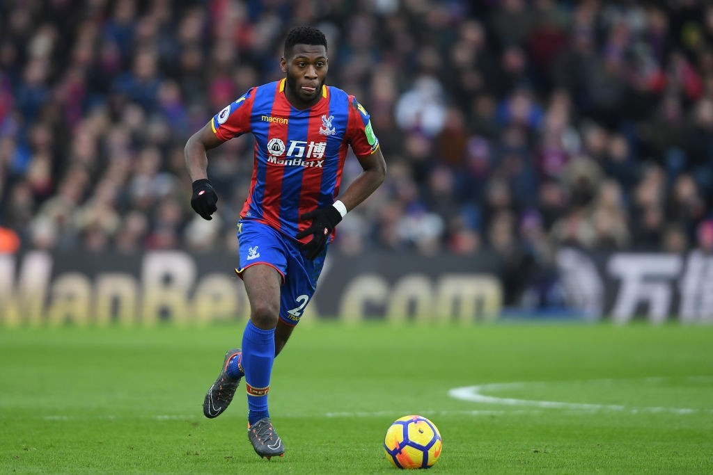 Fosu-Mensah impressed on loan at Crystal Palace (Photo by Mike Hewitt/Getty Images)