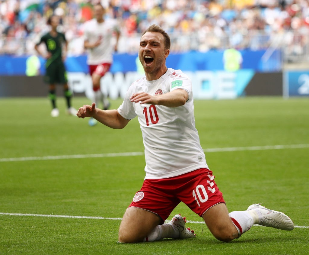 Denmark's biggest drawing card - Christian Eriksen (Photo courtesy; AFP/Getty)