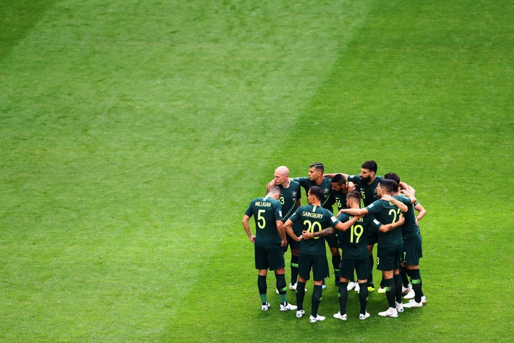 Australia are in with a great chance to qualify for the Round of 16. (Photo courtesy - Dean Mouhtaropoulos/Getty Images)
