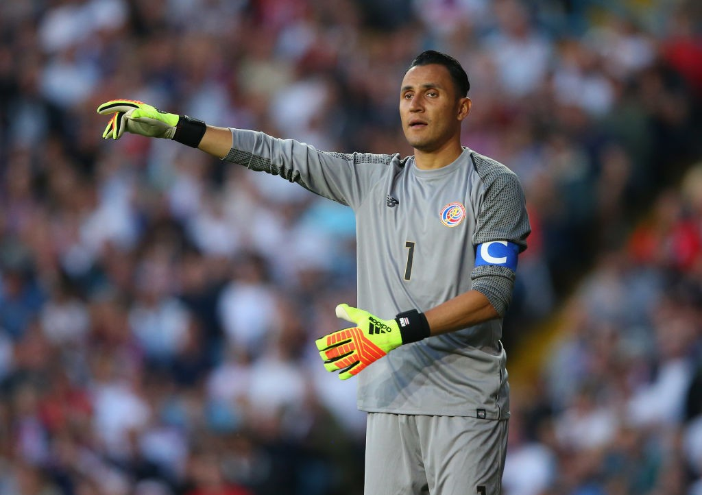 Real Madrid and Costa Rica goalkeeper, Keylor Navas will be hoping to inspire his side at the FIFA World Cup 2018. (Photo courtesy: AFP/Getty)