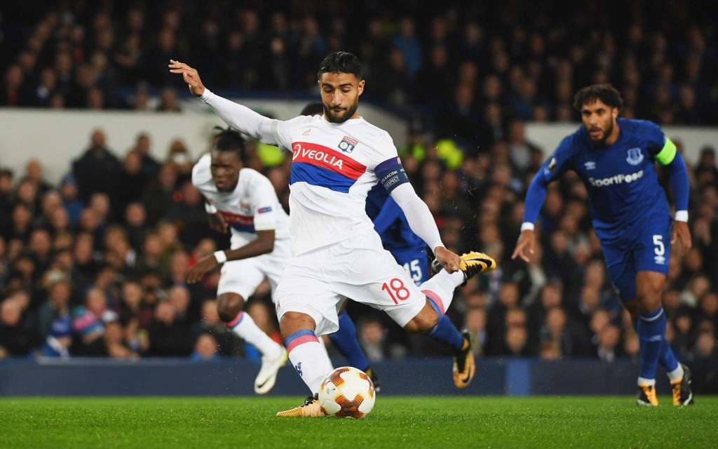 Manchester City will be wary of Lyon attacker and star man Nabil Fekir. (Photo courtesy: AFP/Getty)