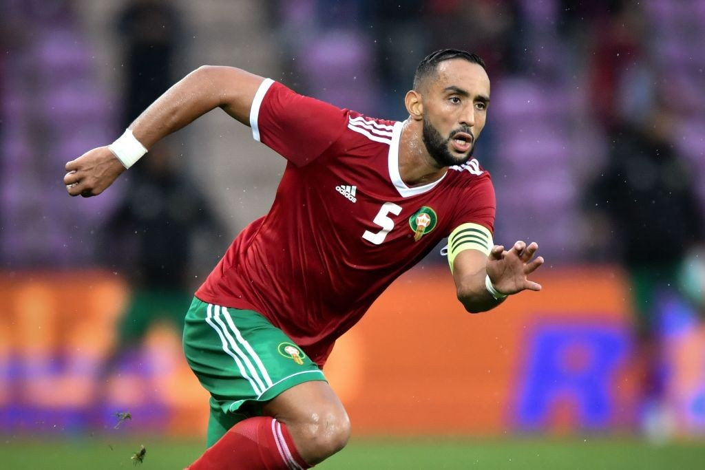 Medhi Benatia led Morocco into Russia at the back of a solid defensive performance in the qualifiers where they conceded no goals at all. (Photo courtesy: Fabrice Coffrini/AFP/Getty Images)