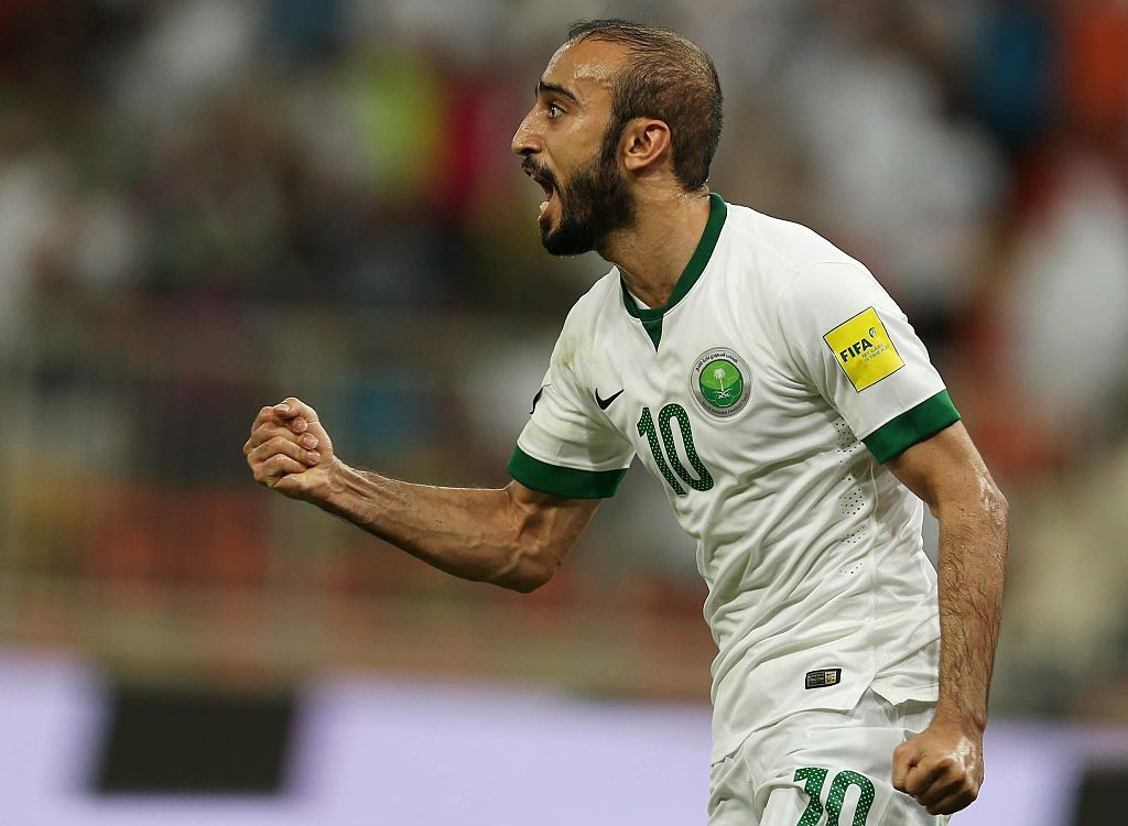 Can Al-Sahlawi regain his form against Russia? (Photo courtesy - STR/AFP/Getty Images)