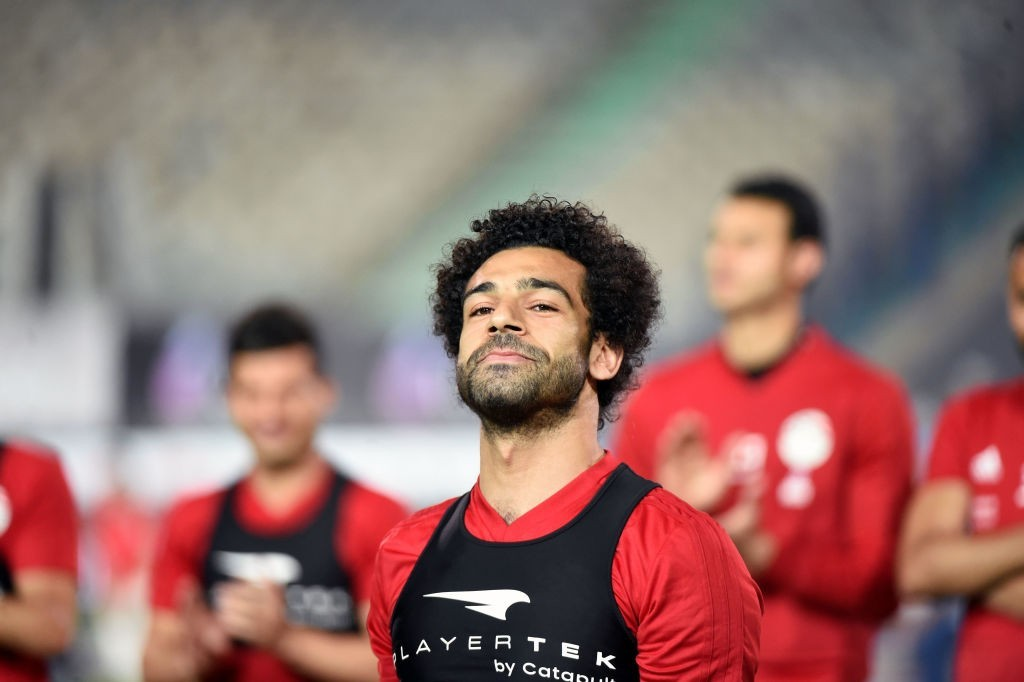 There are doubts over the availability of Mohamed Salah. (Photo courtesy - Khaled Desouki/AFP/Getty Images)