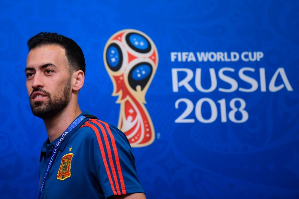 Sergio Busquets has a key role to play against Morocco. (Photo courtesy: AFP/Getty)
