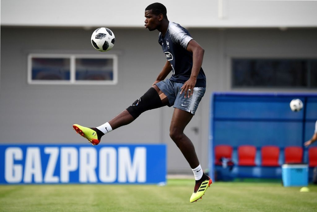 Pogba has been impressive for France in the World Cup (Photo by FRANCK FIFE/AFP/Getty Images)