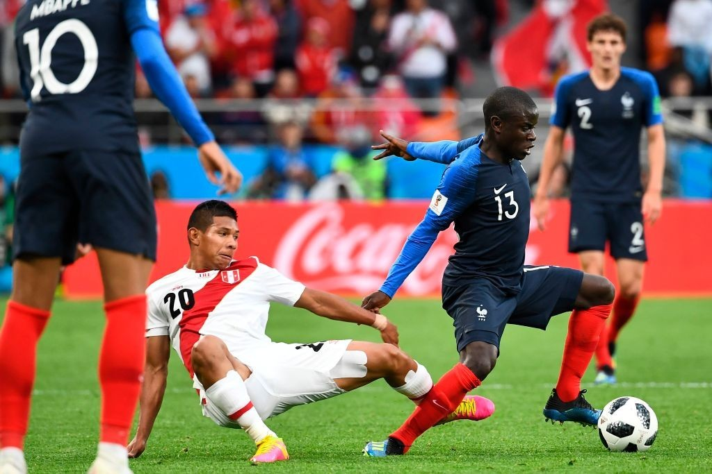A colossal figure in the middle for France (Photo courtesy - Anne-Christine Poujoulat/AFP/Getty Images)