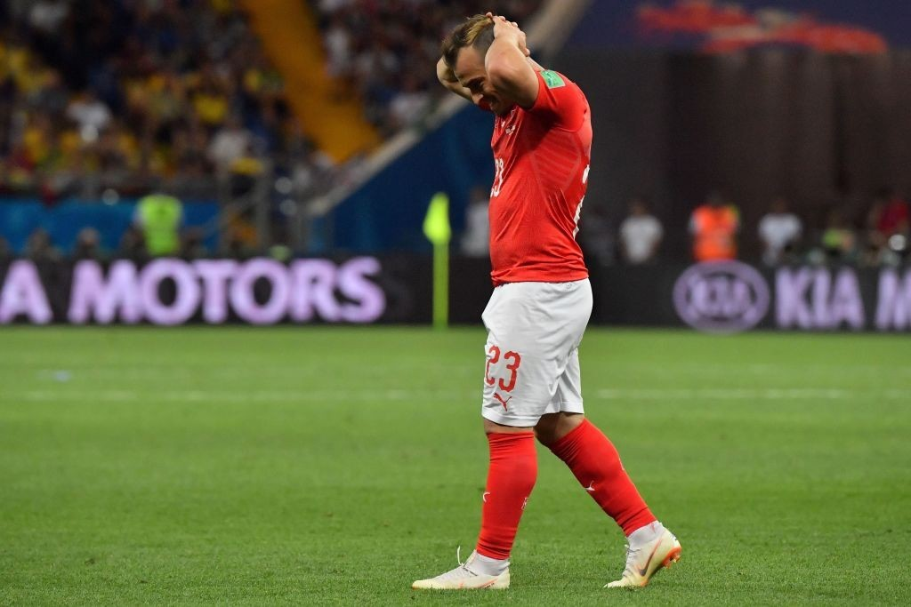 Can Shaqiri step up for Switzerland? (Photo by PASCAL GUYOT/AFP/Getty Images)