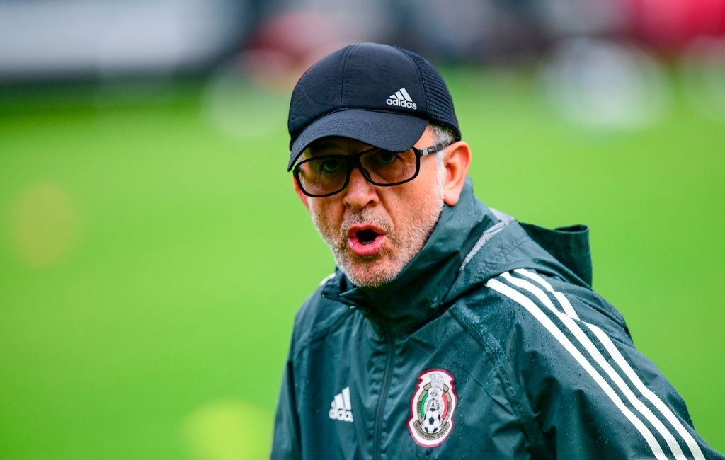 Can Juan Carlos Osorio end Mexico's round of 16 hoodoo? (Photo credit should read RONALDO SCHEMIDT/AFP/Getty Images)