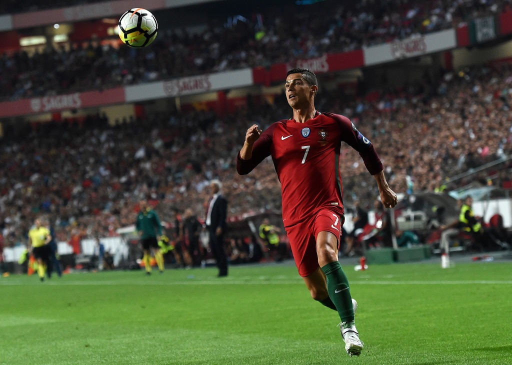 Portugal will be hoping that it would be Ronaldo who will lead them to a World Cup glory. (Photo courtesy: AFP/Getty)