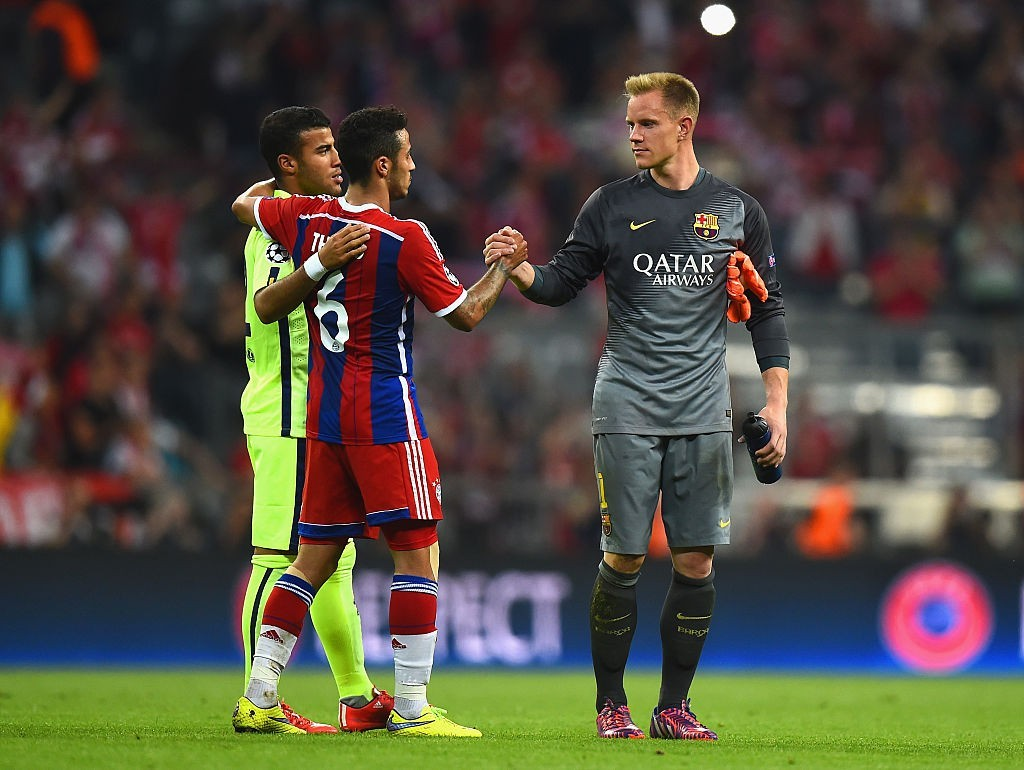 Come back, Thiago. (Photo courtesy - Lars Baron/Bongarts/Getty Images)