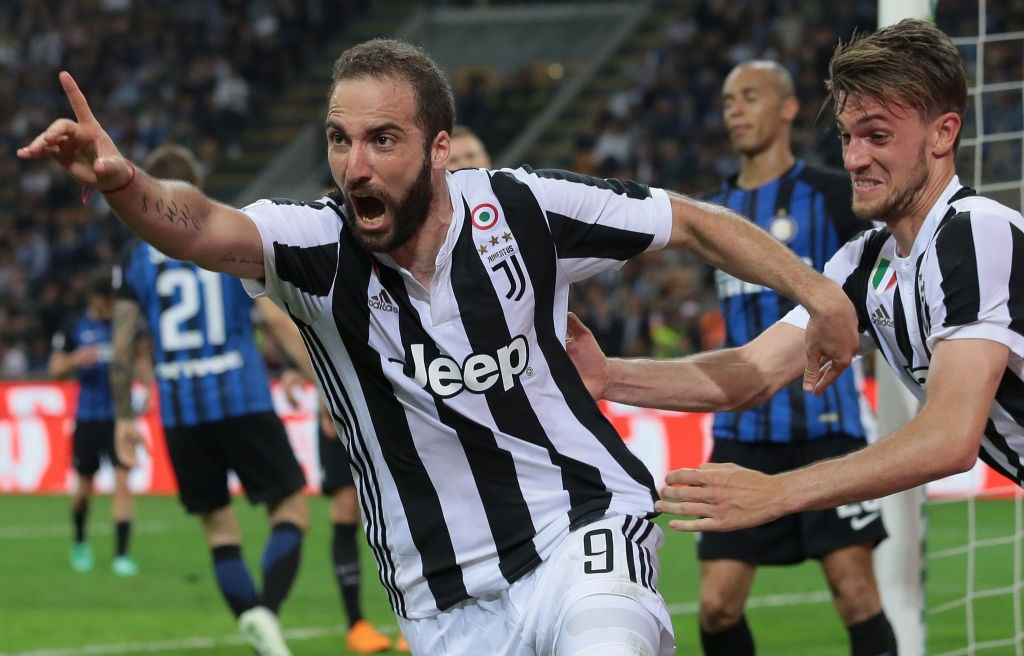 Gonzalo Higuain's time at Juventus could be coming to an end after two highly successful seasons. (Photo courtesy: AFP/Getty)