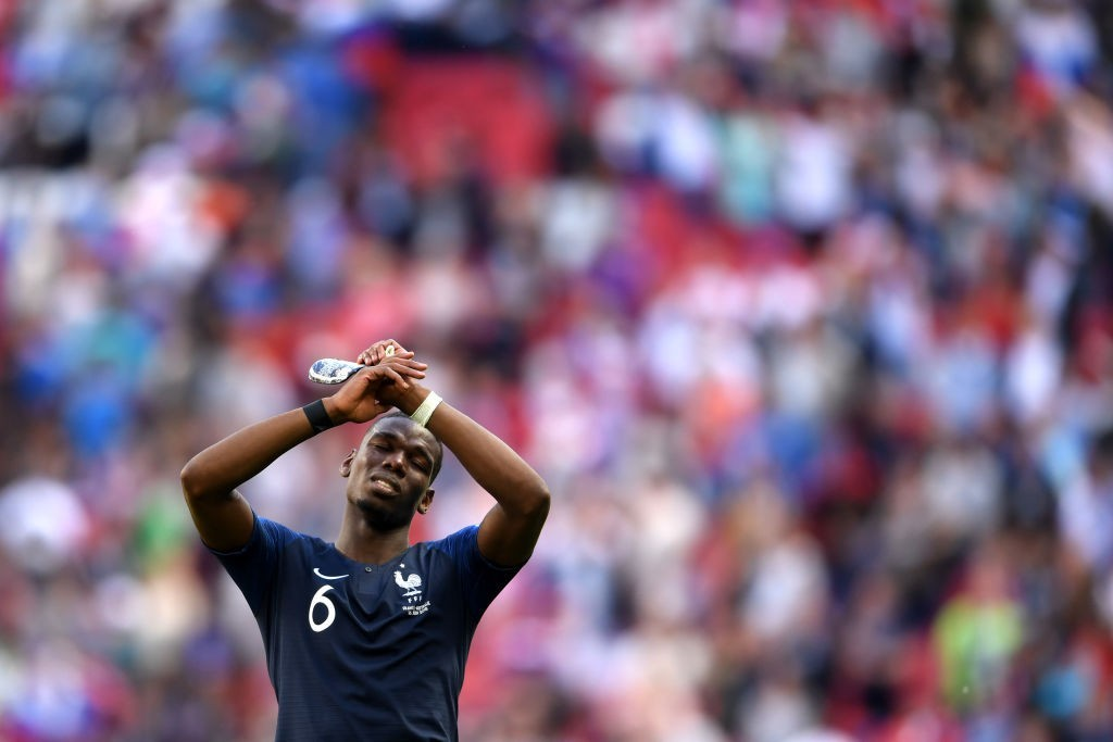 The winner against Australia may have been taken away from him, but Pogba is set to play a key role for France once again. (Photo courtesy - Laurence Griffiths/Getty Images)