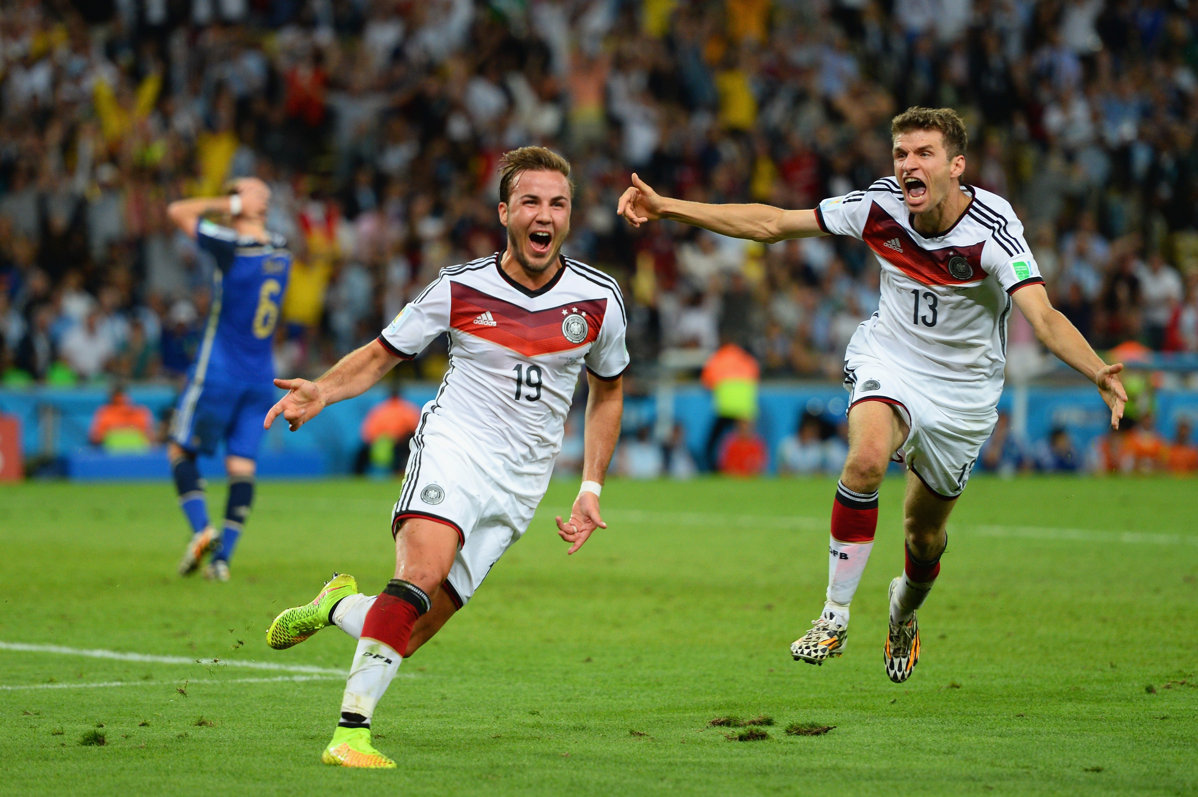 Gotze was on top of his game and his World Cup Winning goal in 2014 hilighted that fact. (Photo courtesy: AFP/Getty)