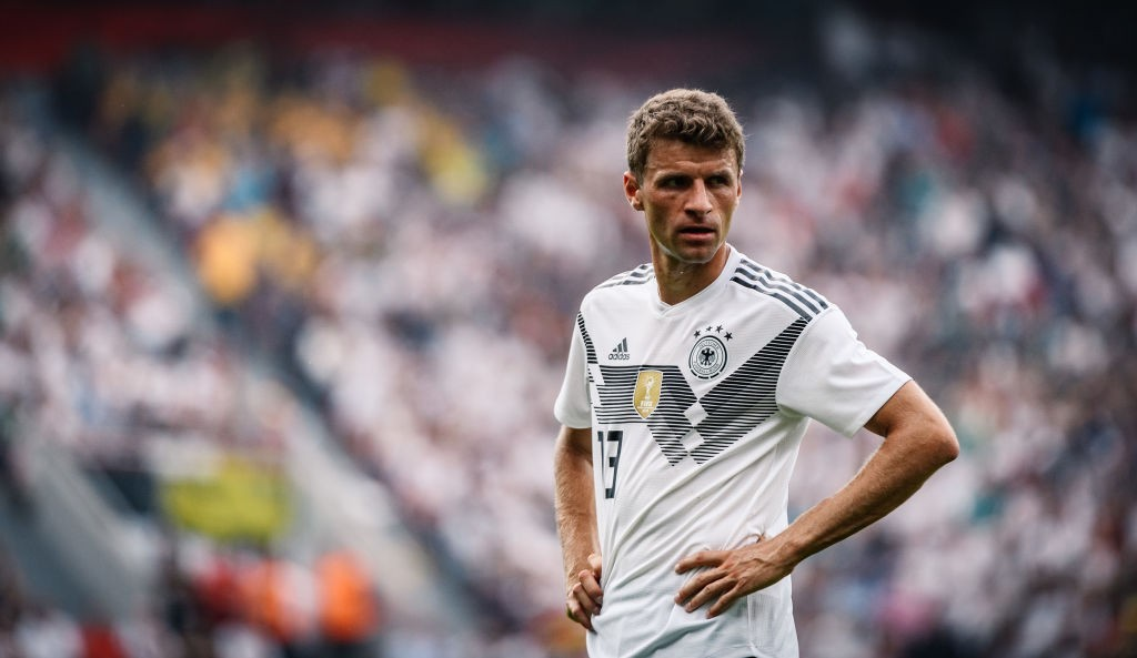Kloseing in - Thomas Muller will be looking to get closer to Miroslav Klose's all-time World Cup record. (Photo courtesy - Alexander Scheuber/Bongarts/Getty Images)