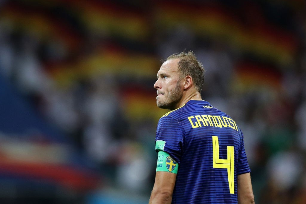 Andreas Granqvist will have to rally his troops on Wednesday. (Photo courtesy - Maddie Meyer/Getty Images)