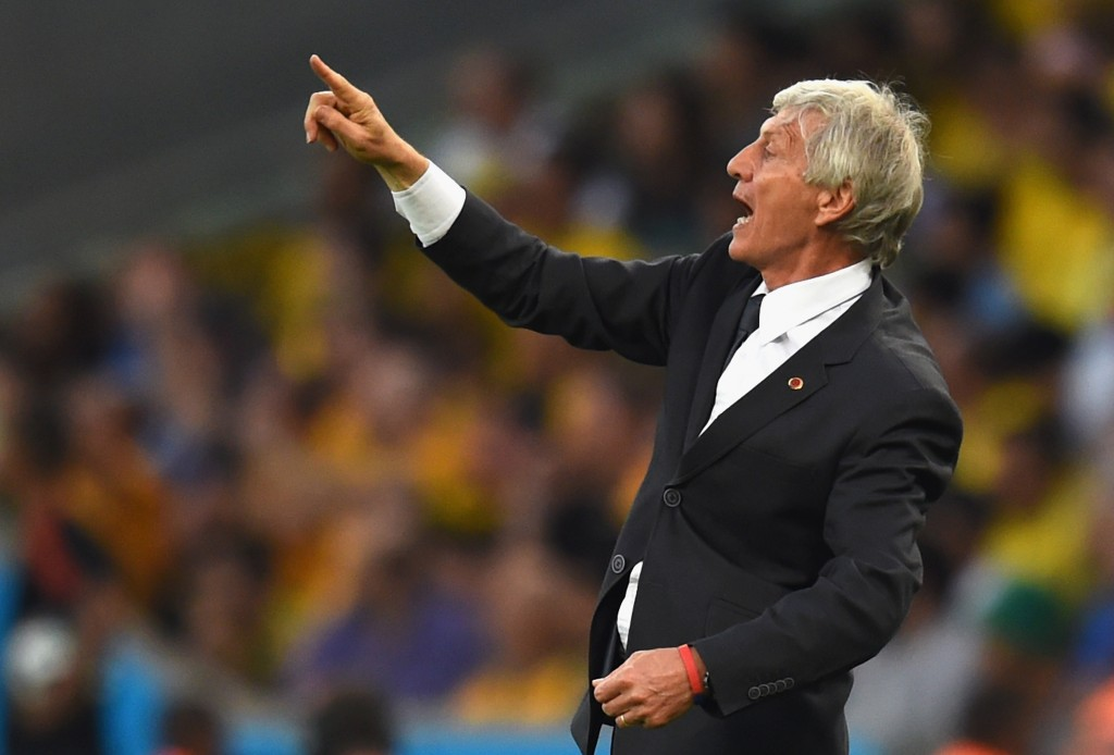 Colombia's rise under Pekerman has been historic. (Picture Courtesy - AFP/Getty Images)