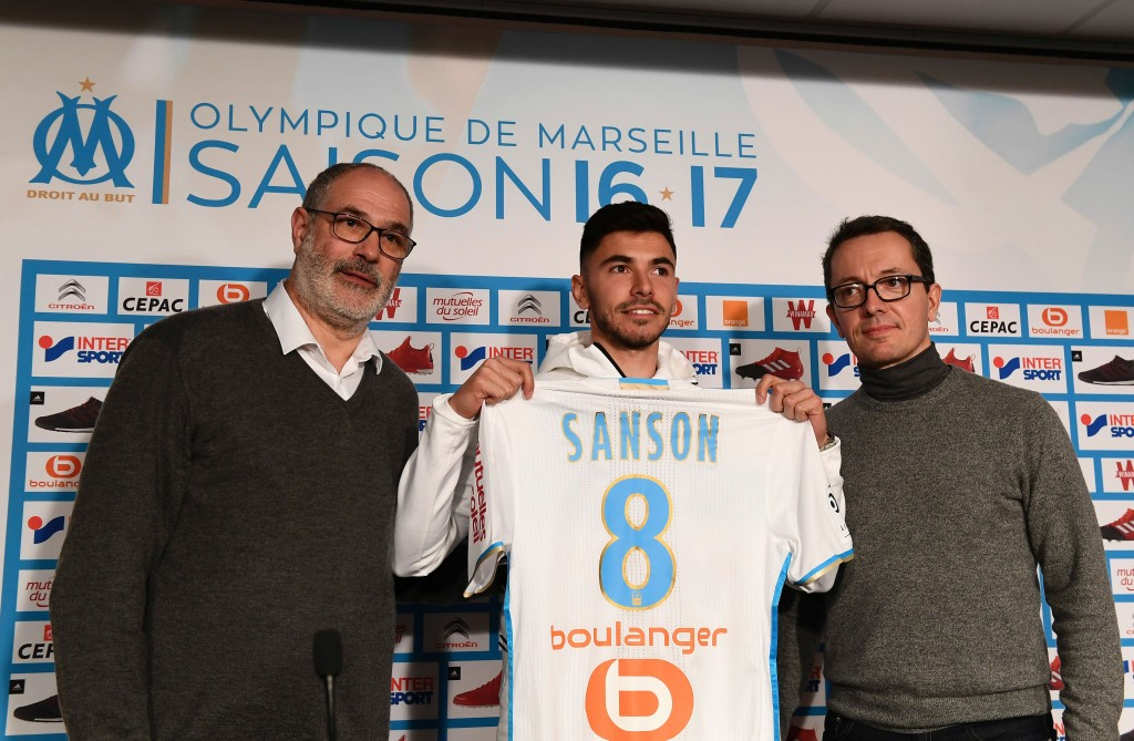 Sanson's debut season at Marseille has been a resounding success. (Picture Courtesy - AFP/Getty Images)