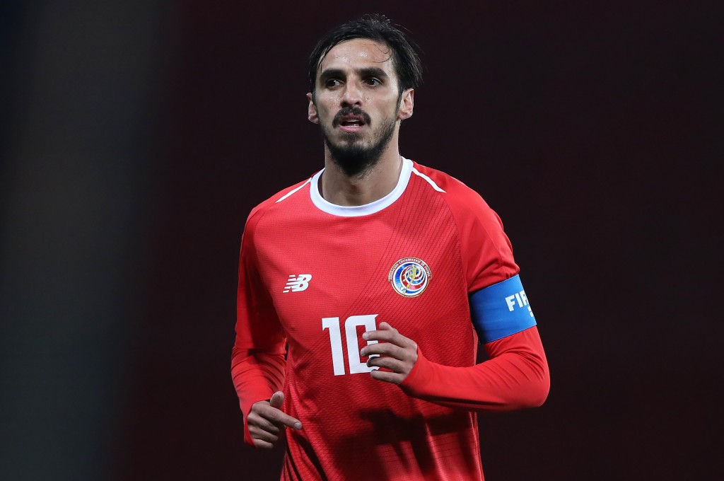 Time for Bryan Ruiz & co. to show what Costa Rica can do. (Picture Courtesy - AFP/Getty Images)