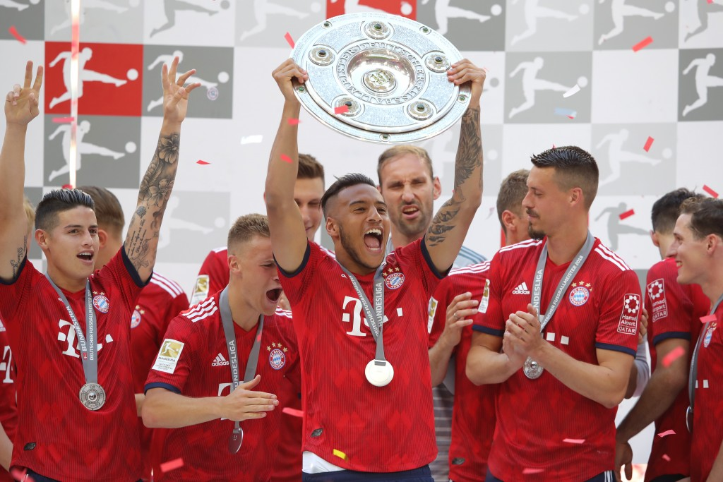 Tolisso's debut campaign in the Bundesliga can be chalked down as a success. (Picture Courtesy - AFP/Getty Images)
