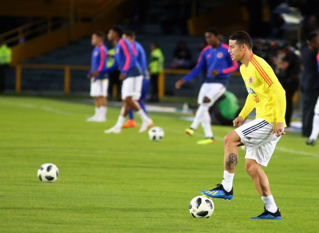 Colombian fans would be hoping the Rodriguez of 2014 turns up in Russia. (Picture Courtesy - AFP/Getty Images)