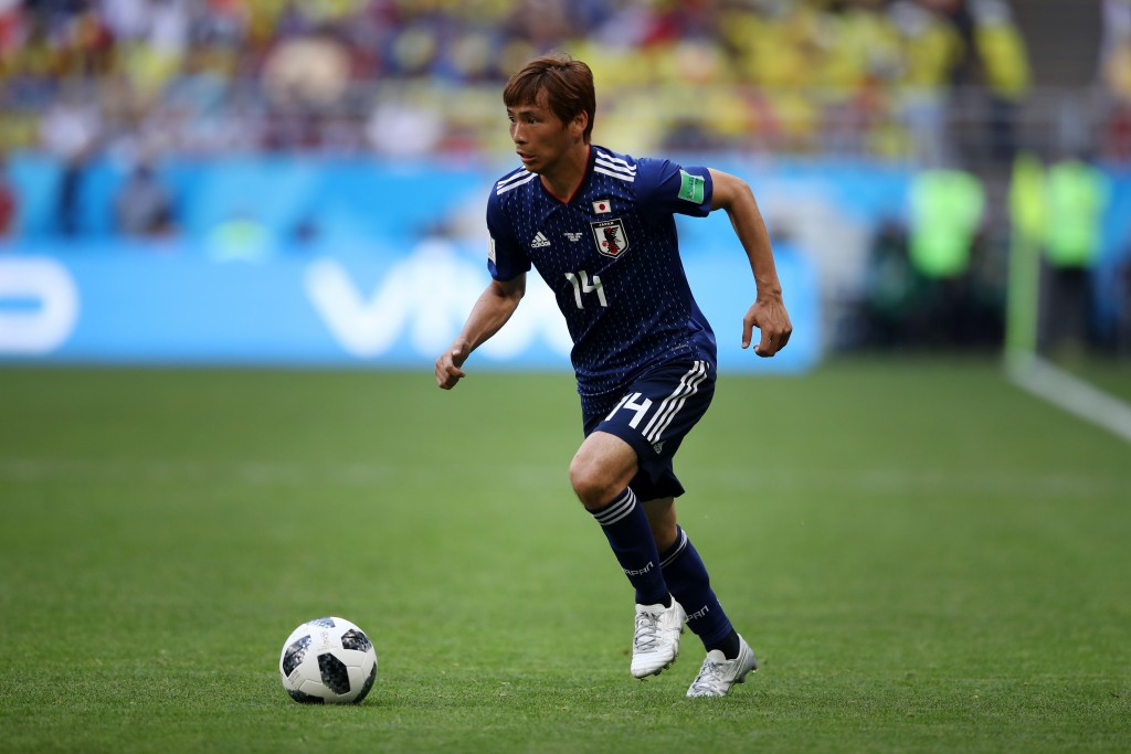 Inui-sance for the Colombian defence in the last game. (Picture Courtesy - AFP/Getty Images)