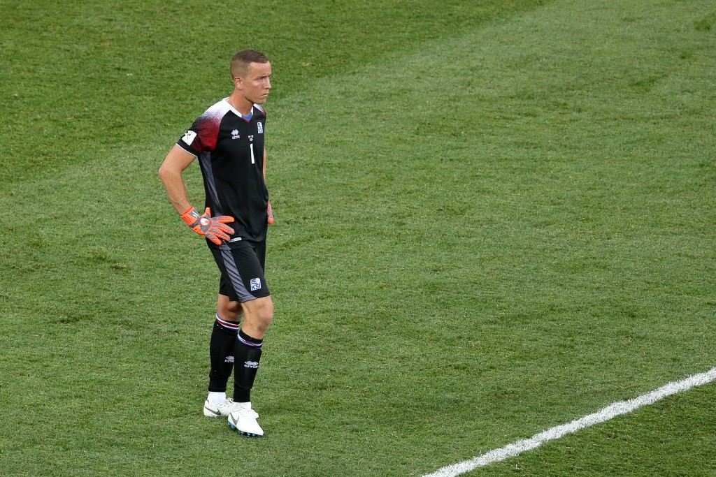 Halldorsson must stand tall and make his presence known on Tuesday. (Picture Courtesy - AFP/Getty Images)