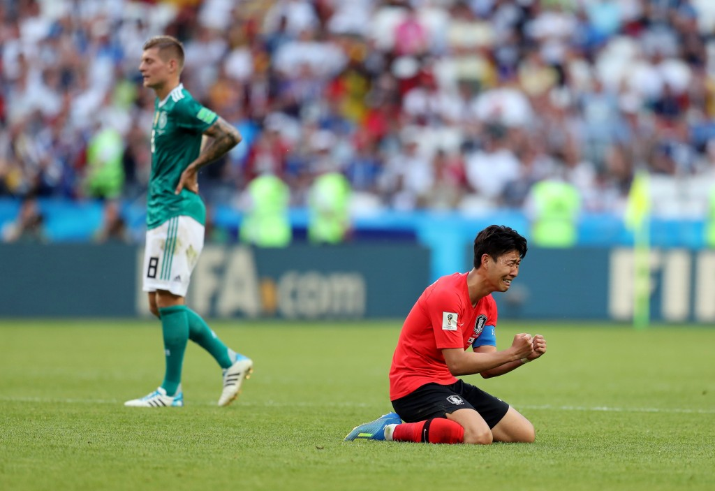 Son scored the goal that put the nail in the German coffin in Russia. (Picture Courtesy - AFP/Getty Images)