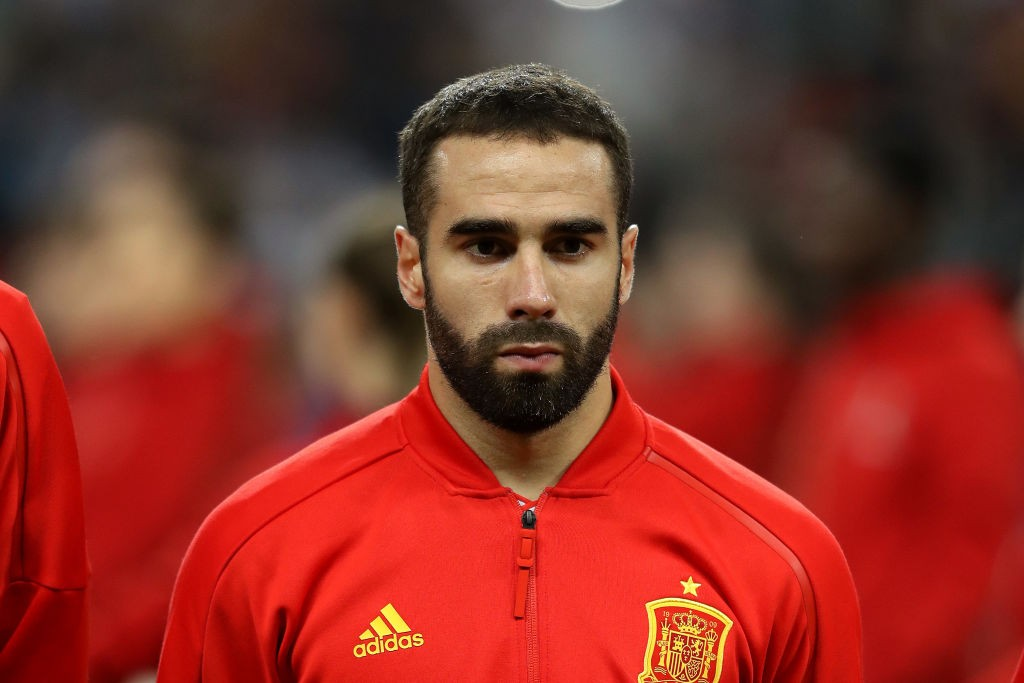 Dani Carvajal has overcome his injury problems and will likely start against Morocco. (Photo courtesy: AFP/Getty)